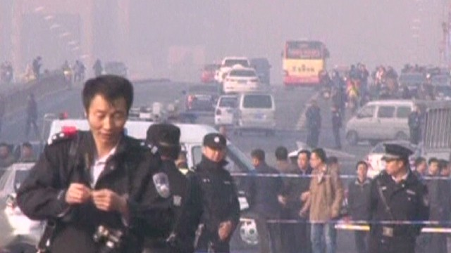 Deadly bombing rocks Northern China