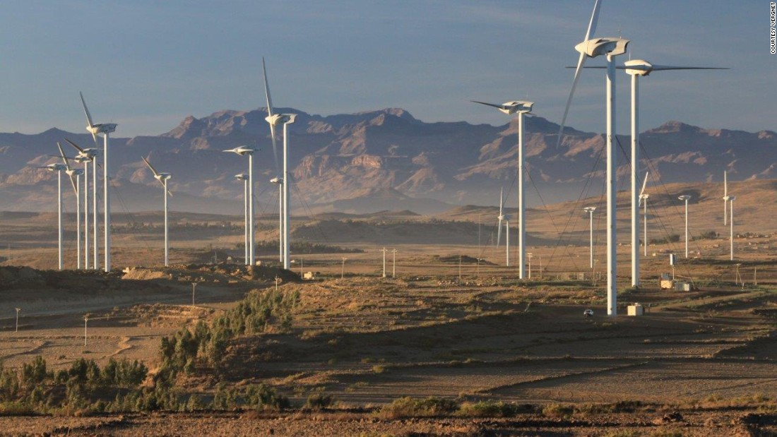 Also in the east African nation, the Ashegoda Wind Farm, completed in 2013.