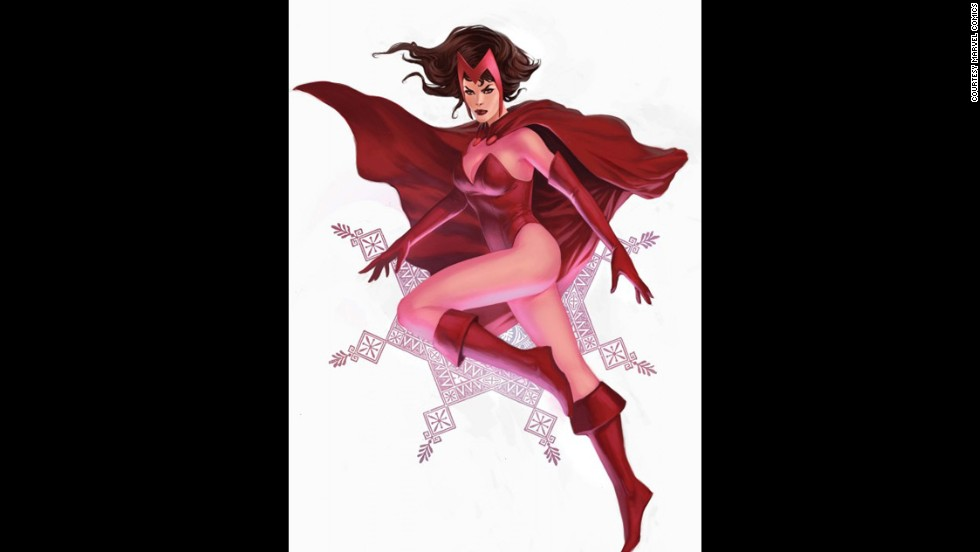 Marvel's Wanda Maximoff, the Scarlet Witch, made her first appearance in 1964.