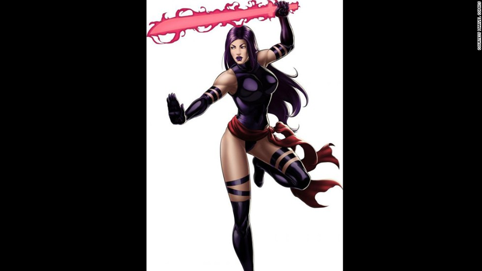 Marvel's Elizabeth Braddock, also known as the X-Man Psylocke, made her first appearance in 1989.