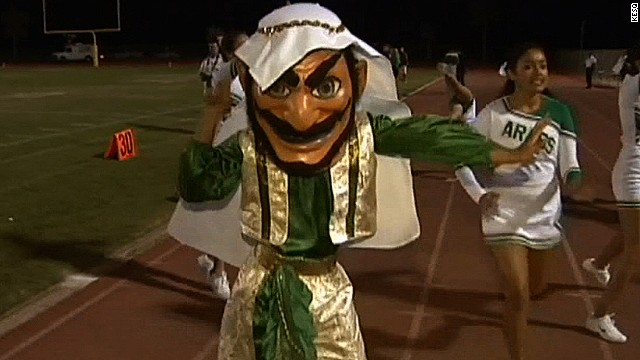 Arab mascot causes outrage