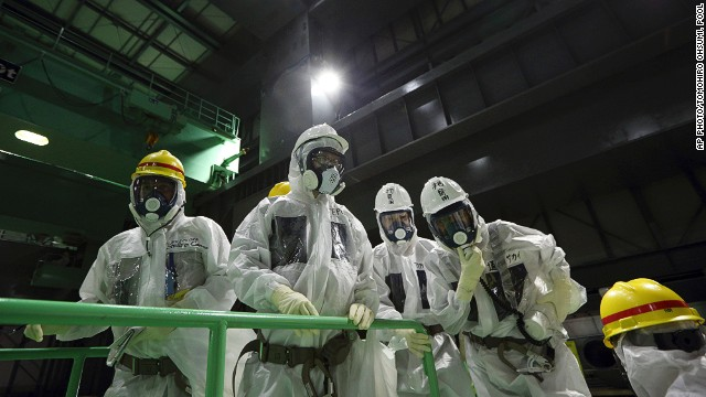 Exclusive look inside Fukushima