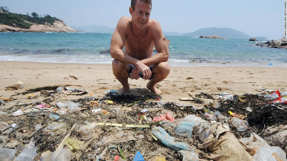 Marine conservation groups have long campaigned about the effects of waste being dumped into our oceans and then being washed up to pollute beaches and damage the environment.