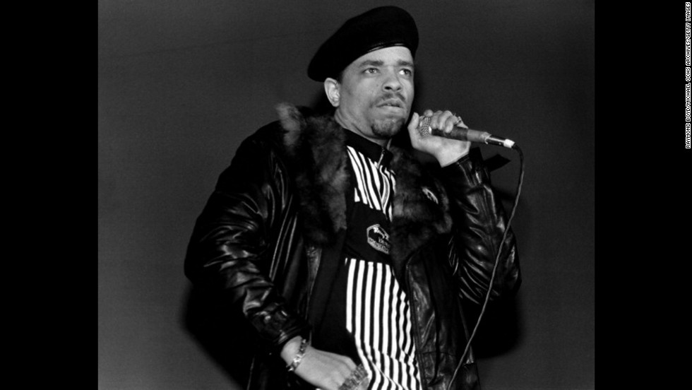 "Ice-T, 55, is best known today for his starring role as a police detective on ""Law & Order,"" but in the 1980s, he was a pioneer of gansta rap -- generating controversy with songs such as ""Cop Killer.""  Before he became Ice-T, Tracy Marrow joined the Army at age 19 to take care of his young daughter.  He spent four years in the 25th Infantry Division before launching his musical career."