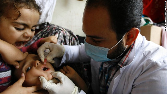 Syrian polio crisis may threaten Europe