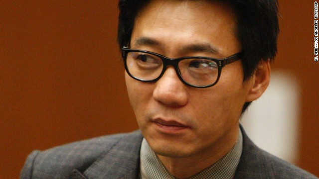 Young Lee, one of the founders of the Pinkberry yogurt chain, shown during his January 2012 arraignment.