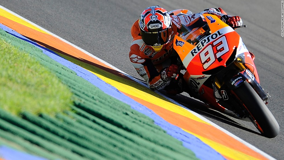 He finished third in the final race at Valencia, where Lorenzo did all he could to win a third world title by claiming his third successive race victory.
