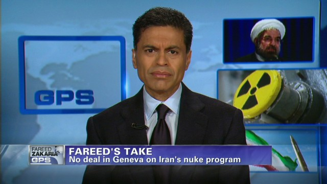 Fareed's take on Iran nuclear talks