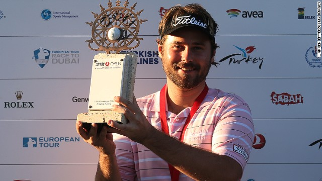 France's Victor Dubuisson collected just over $1.1 million for winning the Turkish Airlines Open.