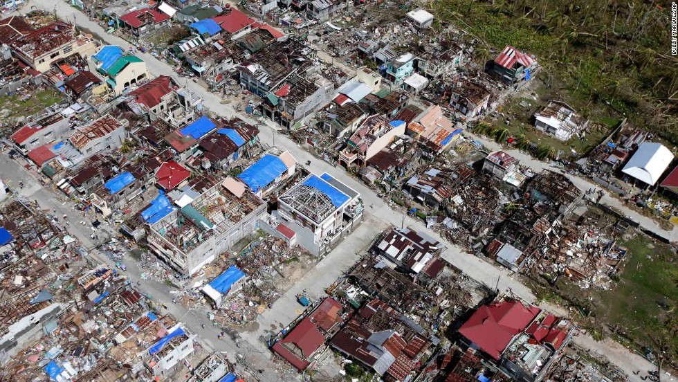 Guiuan, Philippines, on November 11