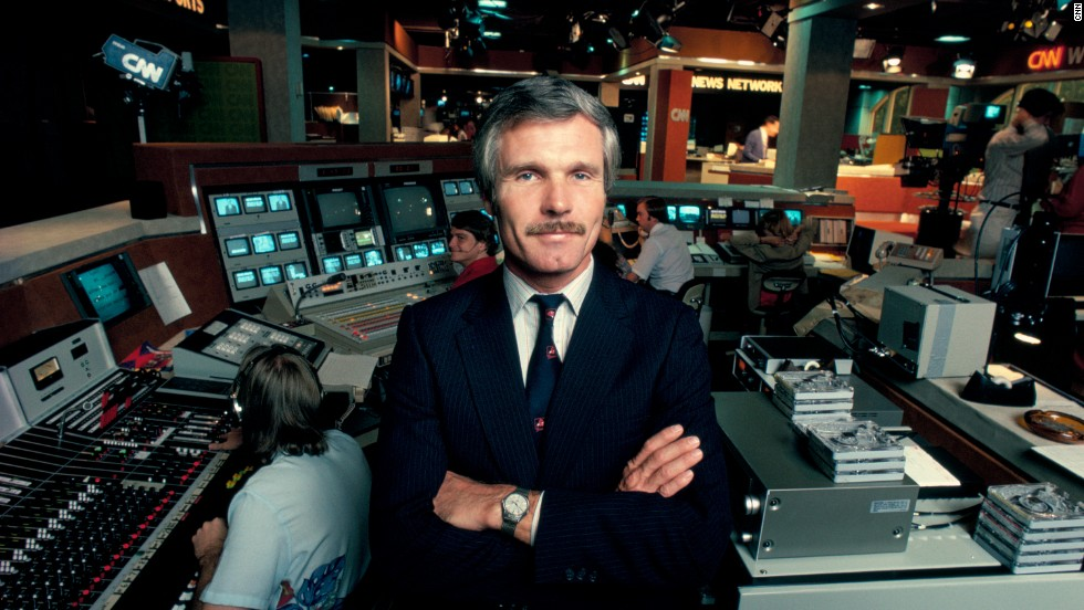 On June 1, 1980, Turner launched CNN, the first 24-hour, all-news cable network.