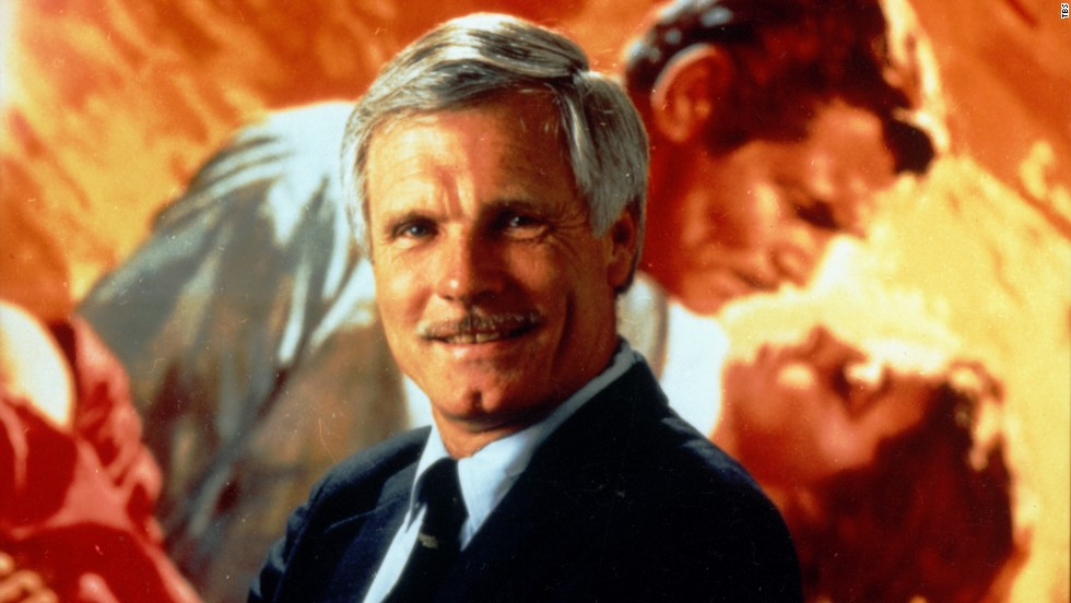 Image result for ted turner gone with the wind