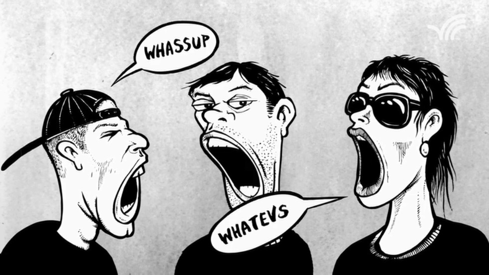 You don't yawn because you're tired