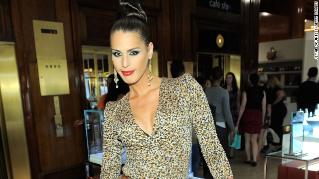 Carmen Carrera attends Fashion's Night Out at SAKS Fifth Avenue on September 8, 2011 in New York City.