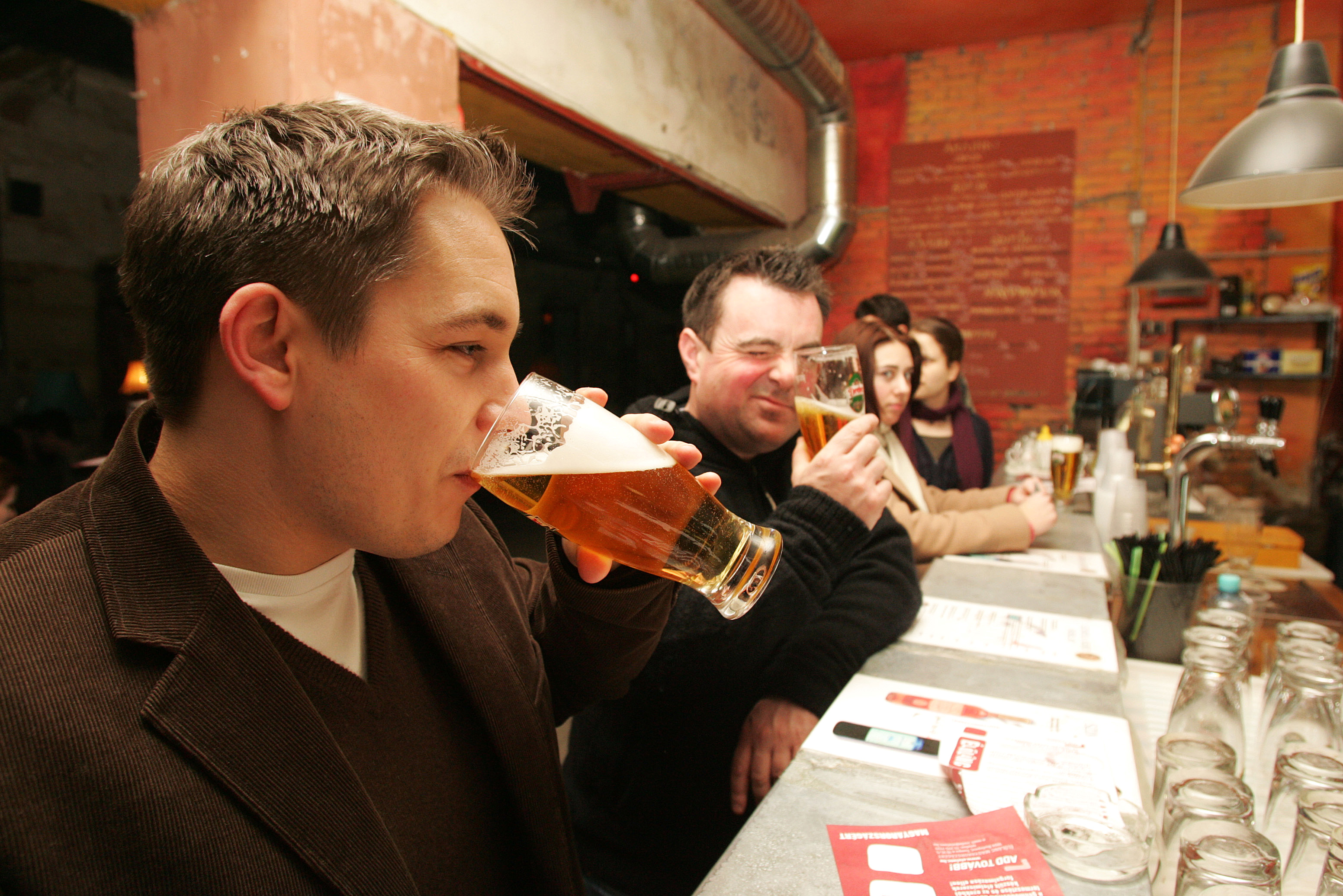 want to have some drinks in hungary