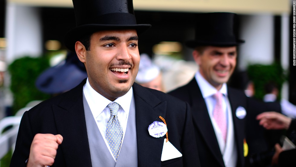 The other big player in Qatar is Joann's cousin Sheikh Fahad al Thani, who founded the powerful Qatar Racing in 2011.