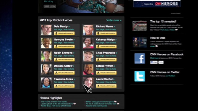 CNN Heroes: How to donate