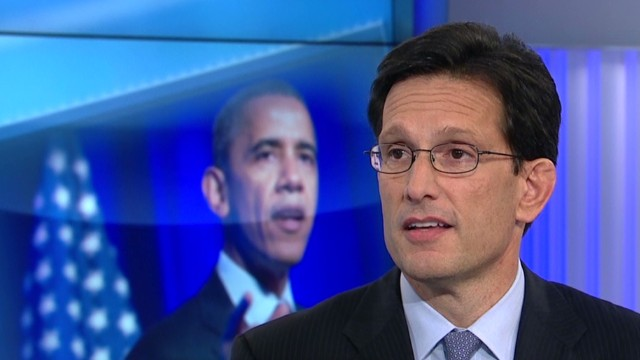 Cantor on constituents who like Obamacare