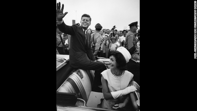 "In Dallas, ""Kennedy wanted to sit up high and wave at people."""