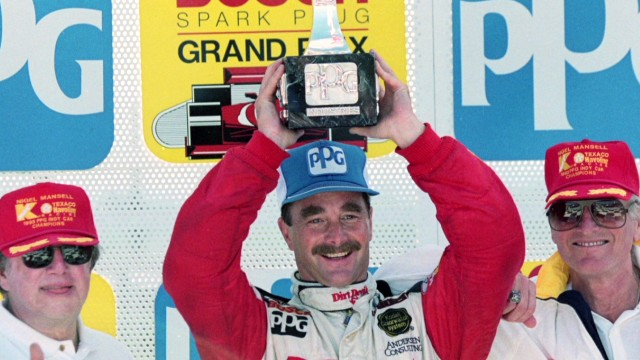 Mansell on making it big in the U.S.