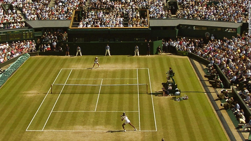 Grass was Bartoli's most successful surface, with the 29-year-old also reaching the Wimbledon final in 2007. On that occasion she lost to Venus Williams.