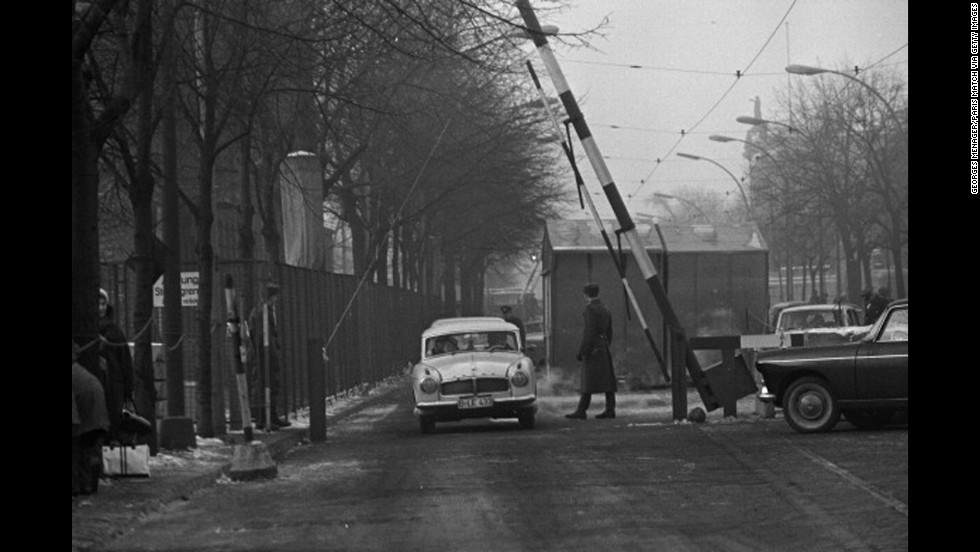 More than two years after it was constructed, the Berlin Wall opened for the first time on December 20, 1963, allowing citizens of West Berlin to visit their relatives in communist East Berlin.