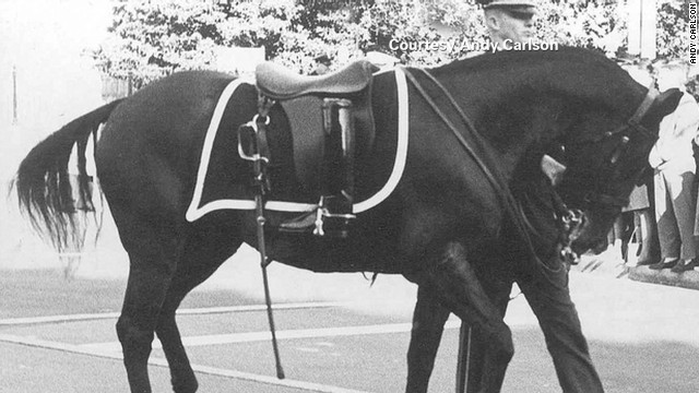 The riderless horse: A JFK icon