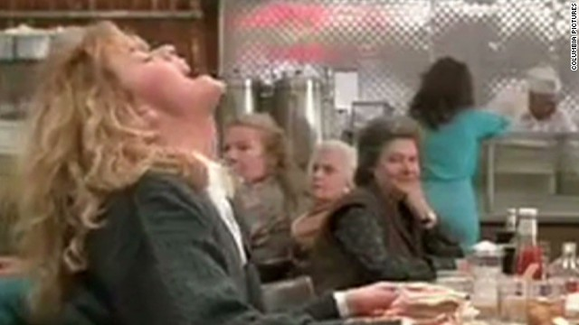 "The film ""When Harry Met Sally"" featured a famously fake female orgasm."