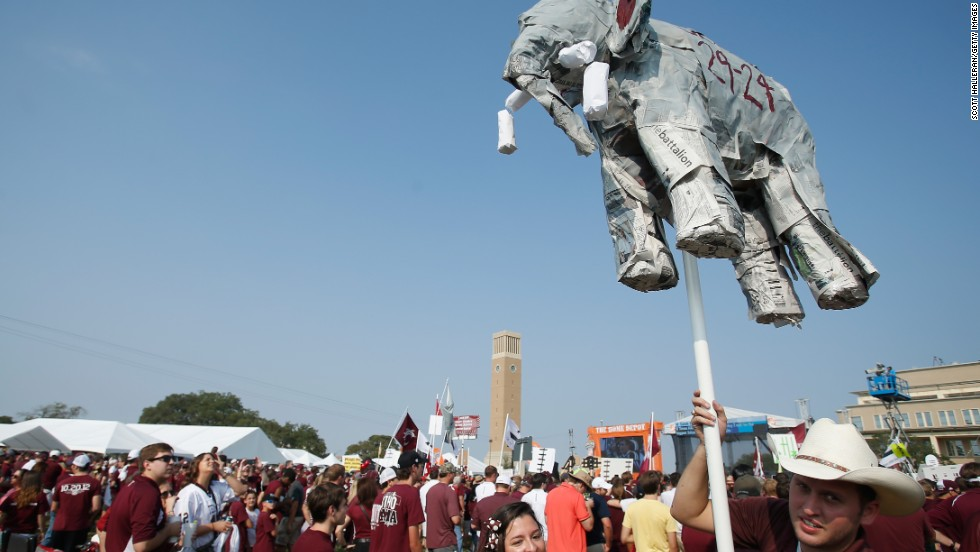Tailgater Monthly magazine named Texas A&M the No. 1 tailgating college of 2013.