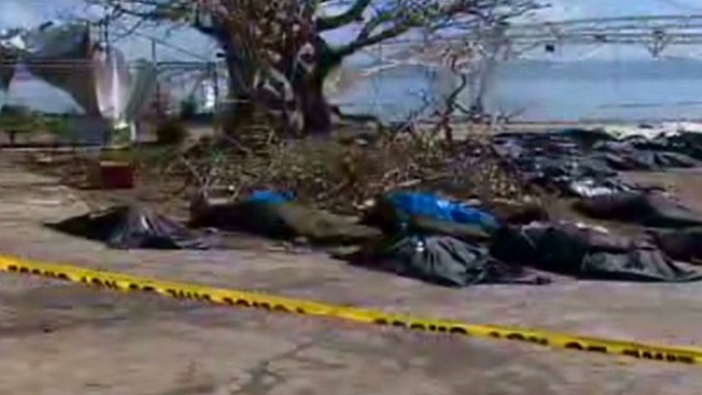 Confusion over typhoon death toll