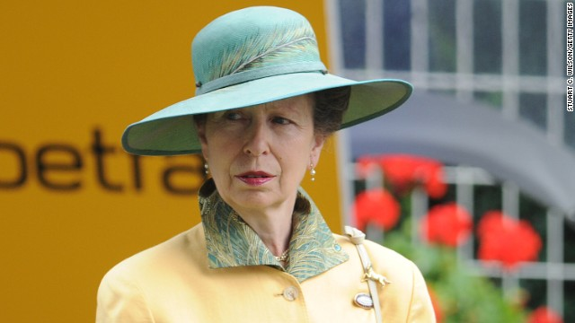Princess Anne is a member of the IOC and competed at the 1976 Olympics in equestrian.