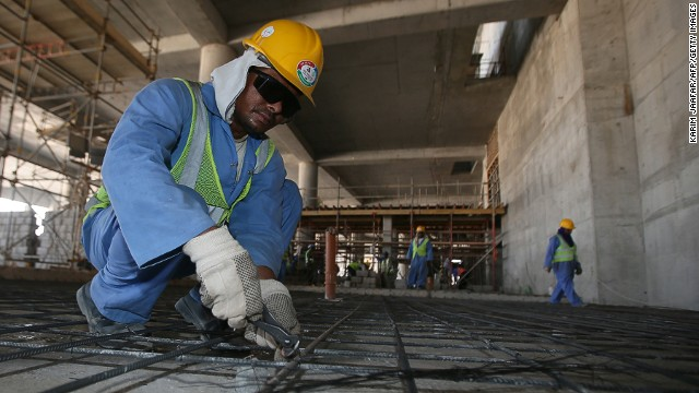 Qatar accused of exploiting workers