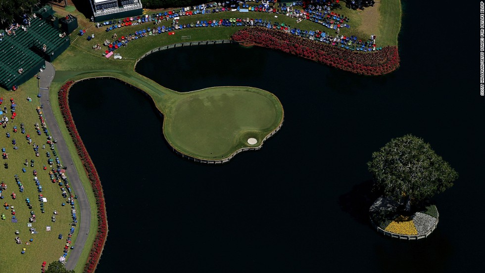 "TPC Sawgrass opened in 1980 and has played host to The Players Championship -- often described as golf's ""fifth major"" -- since 1982.  The 17th hole's worldwide fame was helped by its starring role in the classic PGA Tour Golf video game made by EA Sports."