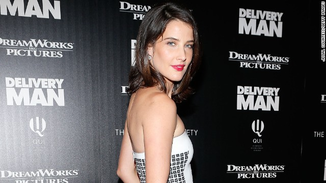 Actress Cobie Smulders attends the screening of 'Delivery Man' hosted by DreamWorks Pictures and The Cinema Society at Paley Center For Media on November 17, 2013 in New York City.