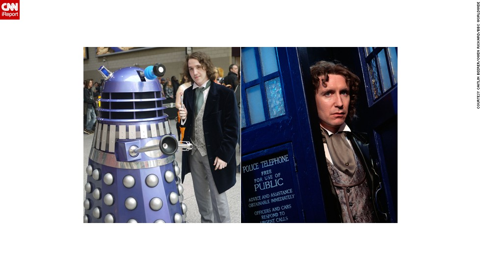 "Paul McGann's time as the Eighth Doctor lasted only about 90 minutes -- with six minutes tacked on just recently in a webisode -- but it was long enough to make an impact on London resident <a href=""http://ireport.cnn.com/docs/DOC-1061543"">Owen Rickard</a>."
