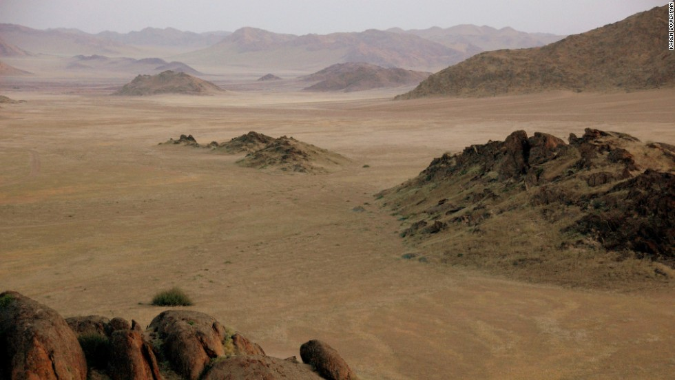 The barren landscape of the Namib Desert offered a spectacular setting for the Dystopian action movie.