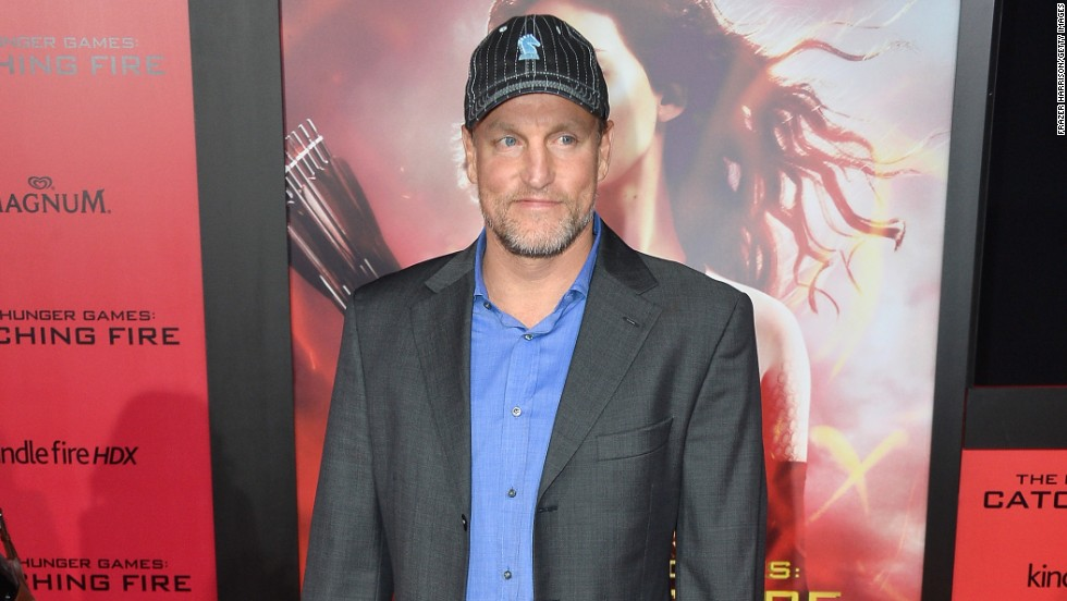 "Woody Harrelson at  the premiere of ""The Hunger Games: Catching Fire""  on November 18 in Los Angeles, California."