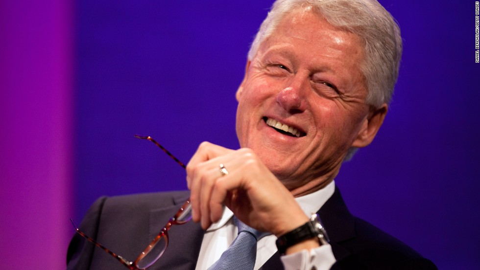 "Former President Bill Clinton is one of 16 recipients of the Presidential Medal of Freedom this year. The 42nd president is being honored for his service in the White House as well as for founding the Clinton Foundation, which strives ""to improve global health, strengthen economies, promote health and wellness, and protect the environment,"" <a href=""http://www.whitehouse.gov/the-press-office/2013/08/08/president-obama-names-presidential-medal-freedom-recipients"" target=""_blank"">according to the White House</a>."