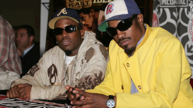 Big Boi (left) and André (right) launched the South into national music attention in the 1990's and early 2000's.