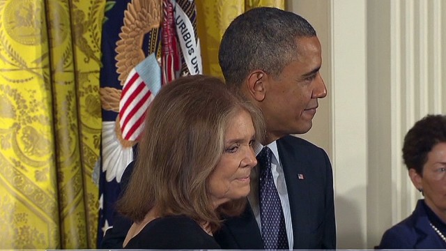 Gloria Steinem: Medal of Freedom honoree