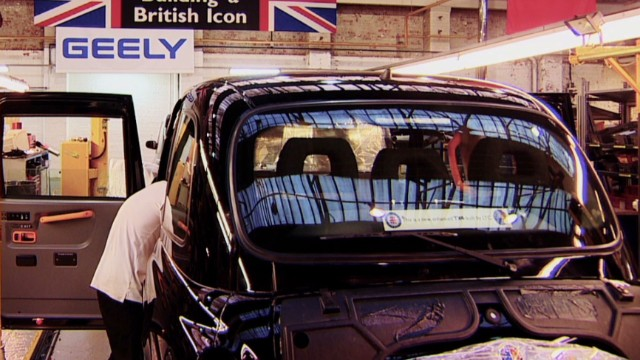 London's black cab reinvents itself