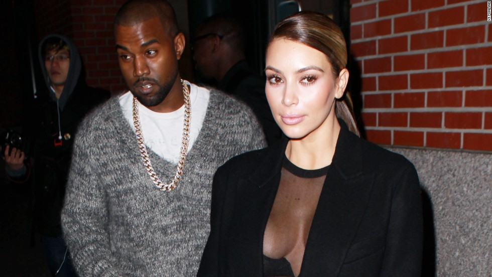 Kanye West and Kim Kardashian step out in matching neutrals on November 19.