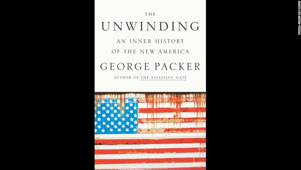 "<strong>Nonfiction (winner):</strong> George Packer, ""<a href=""http://www.nationalbook.org/nba2013_nf_packer.html#.Uo16rI2vWL0"" target=""_blank"">The Unwinding: An Inner History of the New America</a>"""
