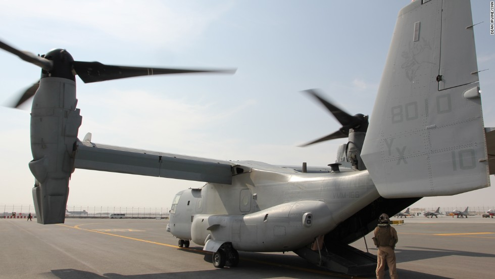The planes have been used by the U.S. marines since 2007 and are currently in action helping humanitarian efforts in the Philippines.