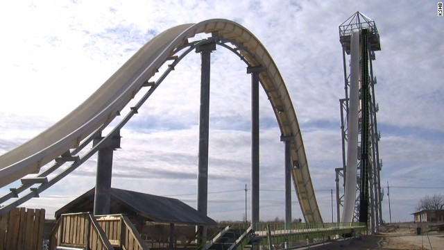 early vo verruckt tallest fastest water slide