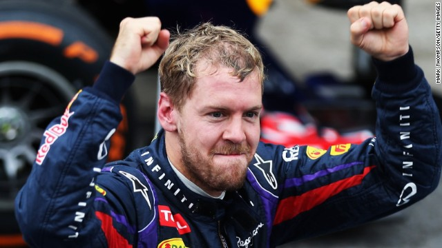 Red Bull's Sebastian Vettel will be aiming to make it five title victories in a row.