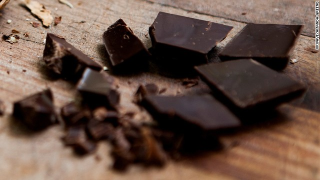 Chocolate is a known mood booster, as cocoa raises serotonin levels in the brain.