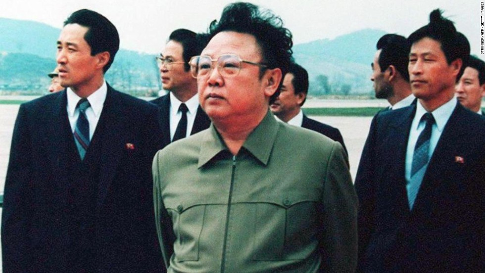 North Korean leader Kim Jong Il stands on the tarmac at Pyongyang Airport after a visit by Chinese President Yang Shangkun in 1992. The 1994 Agreed Framework between North Korea and the United States was meant to stop North Korea from developing nuclear weapons.