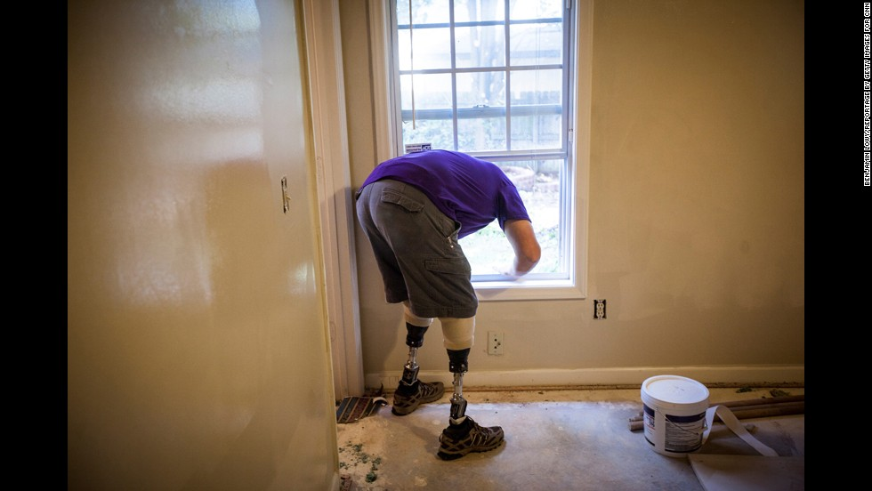 Simple projects, such as adding ramps or renovating bathrooms, can make a big difference for veterans and their caregivers.