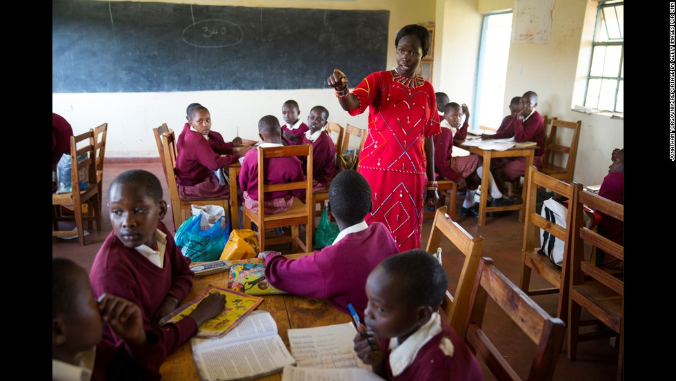 The Kakenya Center started as a traditional day school, but now the students, who range from fourth to eighth grade, live at the school. This spares the girls from having to walk miles back and forth, which puts them at risk of being sexually assaulted.